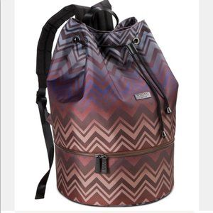 NWT MISSONI BEACH DRAWSTRING BACKPACK